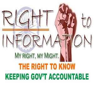 Right to Information, my right, my might